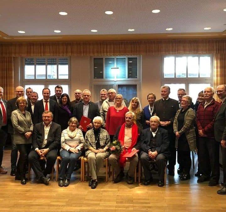 Mitgliederehrung der Ortsvereine Niederaden, Beckinghausen und Horstmar